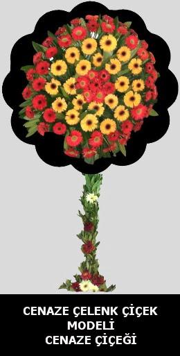 Cenaze çelengi çiçeği modeli  Ankara Gölbaşı çiçekçi uluslararası çiçek gönderme