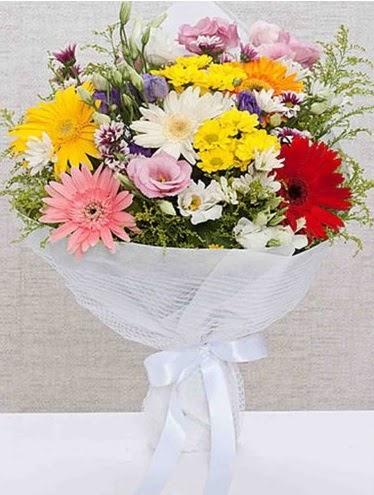 Karışık Mevsim Buketleri  Gölbaşı ankara çiçek servisi , çiçekçi adresleri