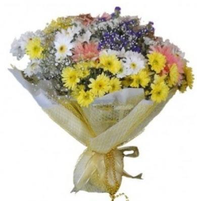 Karışık mevsim çiçeği  Ankara Gölbaşı hediye sevgilime hediye çiçek