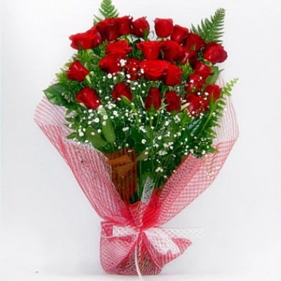 Kız isteme buketi çiçeği sade 29 adet gül  Gölbaşı anneler günü çiçek yolla