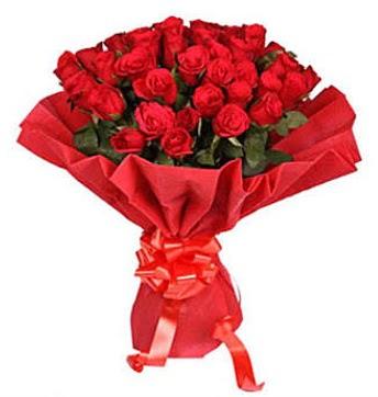 41 adet gülden görsel buket  Ankara Gölbaşı hediye sevgilime hediye çiçek