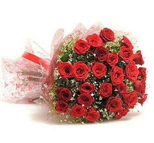 27 Adet kırmızı gül buketi  Gölbaşı ankara çiçek servisi , çiçekçi adresleri