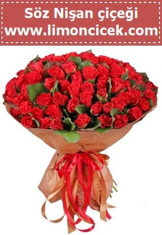 Kız isteme söz nişan çiçeği 101 gül  Gölbaşı çiçek gönder cicekciler , cicek siparisi