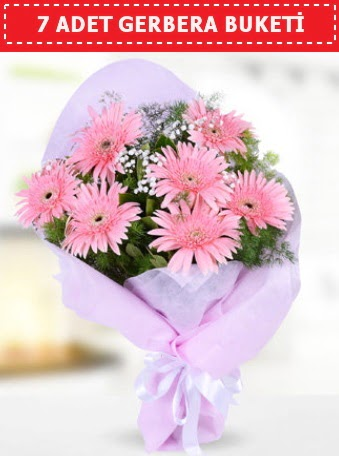 Pembe Gerbera Buketi  Gölbaşı çiçek online çiçek siparişi