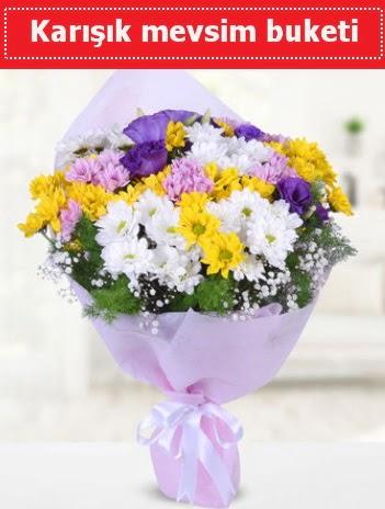 Karışık Kır Çiçeği Buketi  çiçek siparişi Gölbaşı çiçekçiler