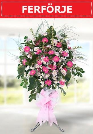 Ferförje düğün nikah açılış çiçeği  Ankara Gölbaşı çiçekçi uluslararası çiçek gönderme
