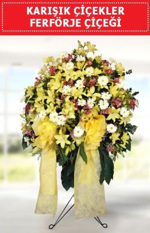 Karışık mevsim çiçeklerinden ferförje  Gölbaşı çiçek siparişi yurtiçi ve yurtdışı çiçek siparişi